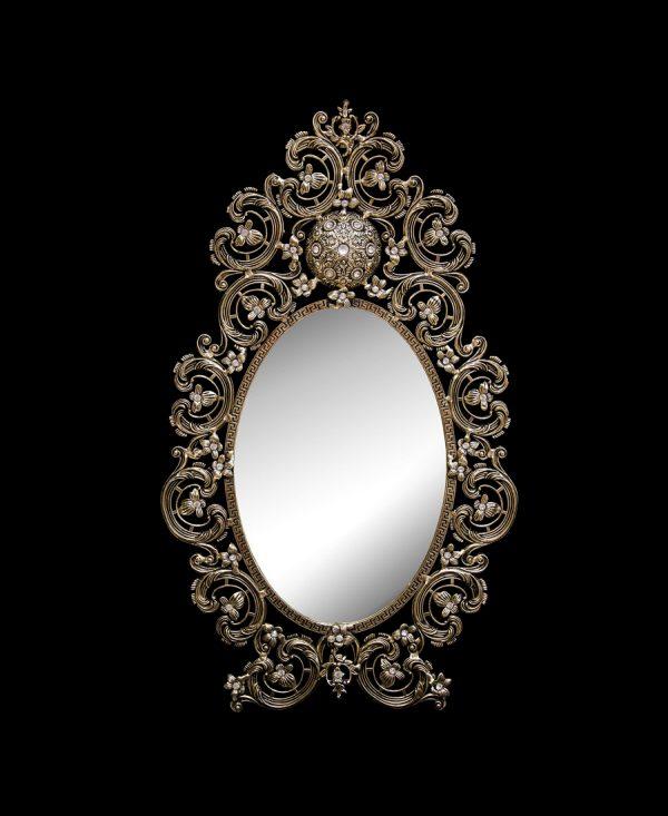 آینه برنزی مدل رویال