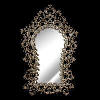 آینه برنزی مدل مانلی طرح محراب