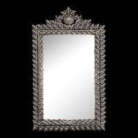 آینه برنزی مدل یاس چهارگوش